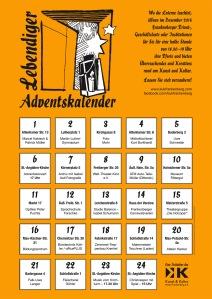 Adventskalender-Plakat 2015